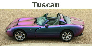 TVR Tuscan Gallery - Mk I, MK II, MK II Convertible and S photos