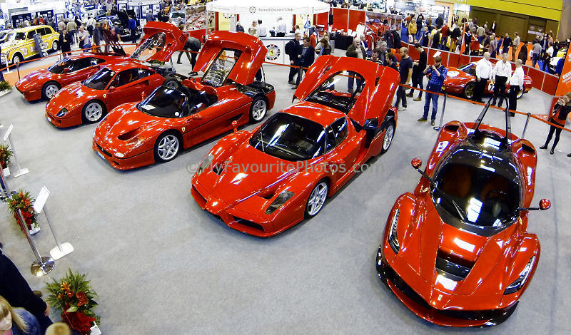 Ferraris At The Classic Car Show MyFavouritePhotosCom - Ferrari car show